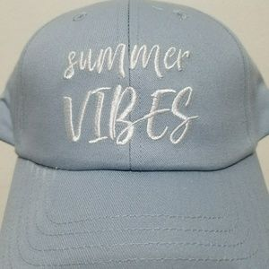 Accessories - Summer vibes blue cap